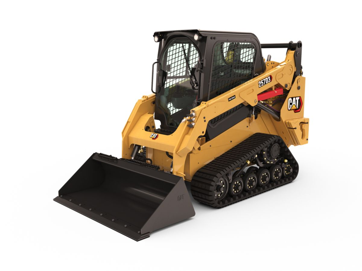 Cat® 257D3 Multi Terrain Loader