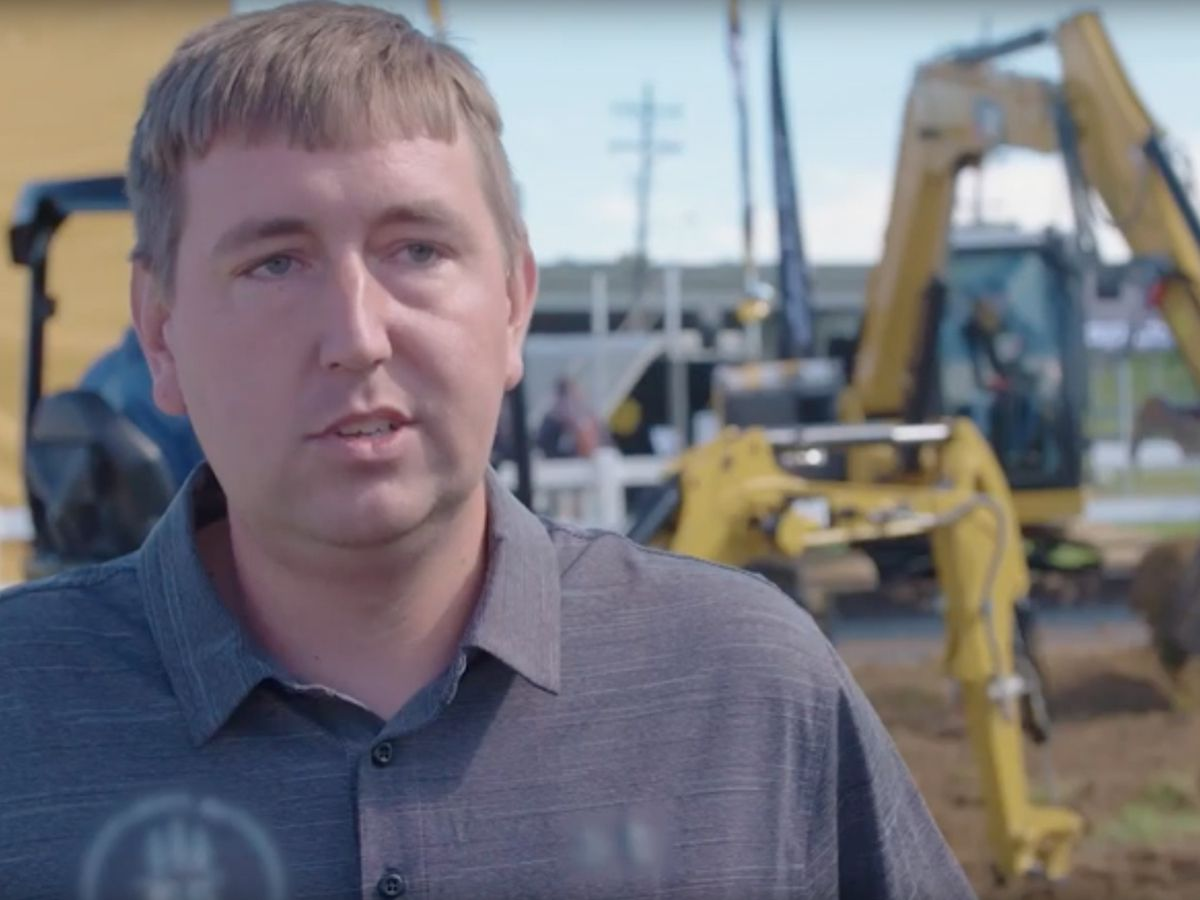 Hear why Kyle Dura of Atlas Landscape in Liberty, MO is excited about Cat Next Generation Mini Excavators.