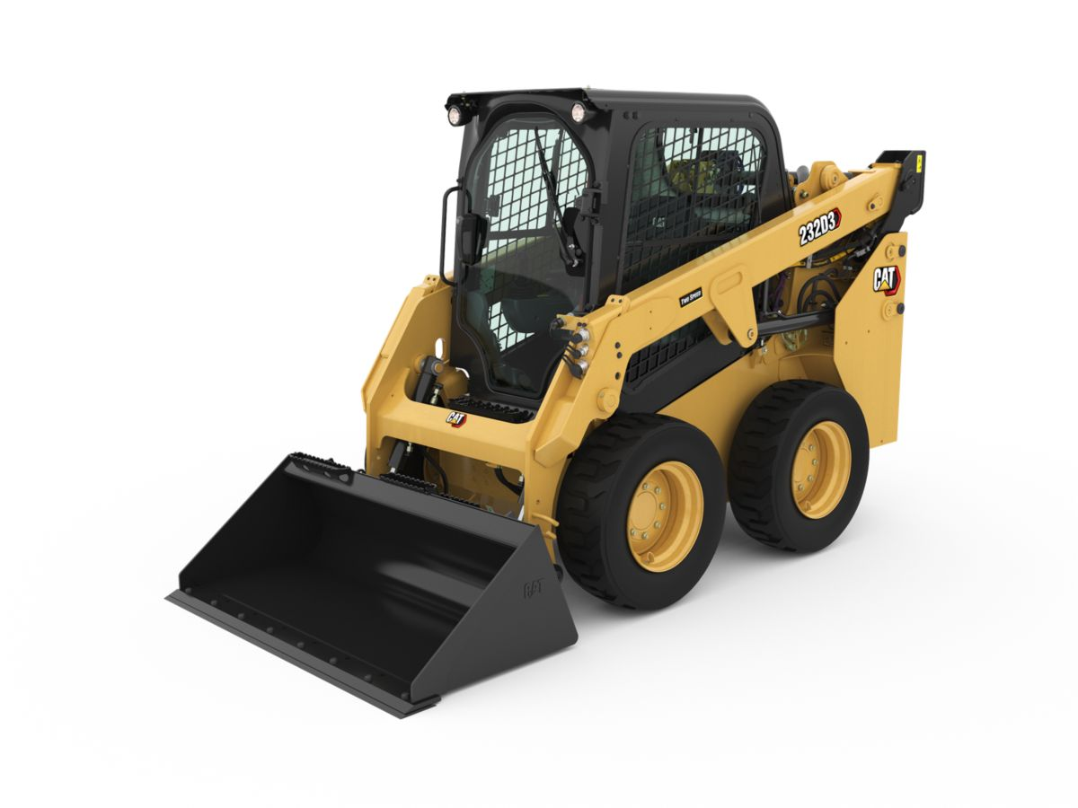 Cat® 232D3 Skid Steer Loader>