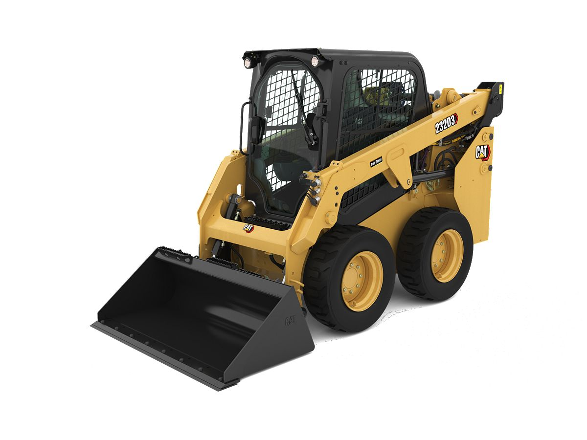 Cat® 232D3 Skid Steer Loader