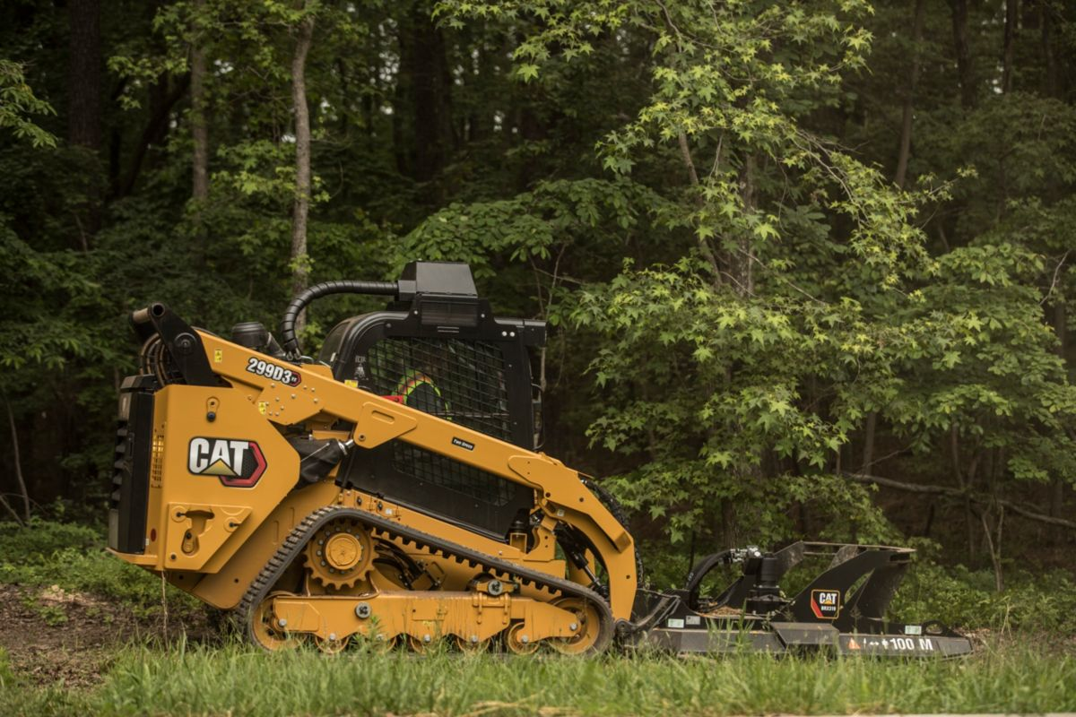 Cat® 299D3 XE Compact Track Loader>