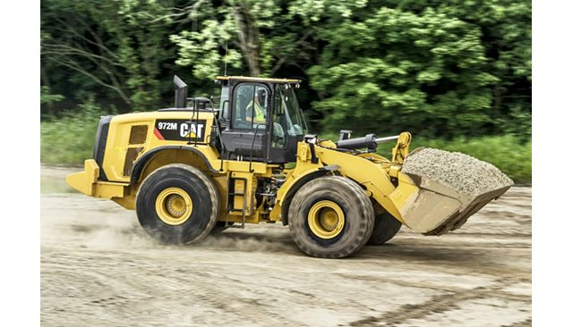 Cat 972M Wheel Loader - DO MORE WITH LESS FUEL