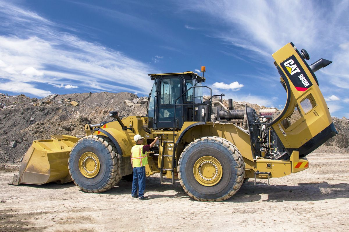 Cat | 980M Wheel Loader | Caterpillar