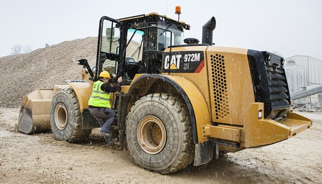 Cat 972M XE Wheel Loader - SAFELY HOME EVERY DAY