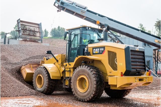 Cat 950 GC Wheel Loader - DO MORE WITH LESS FUEL