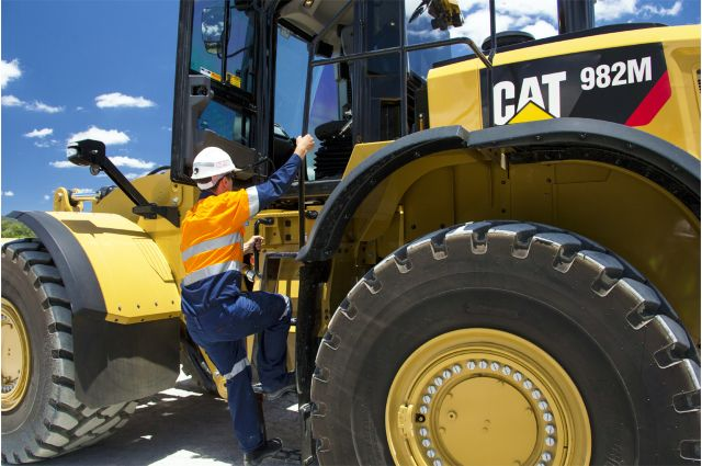 Cat 982M Wheel Loader - SAFELY HOME EVERY DAY