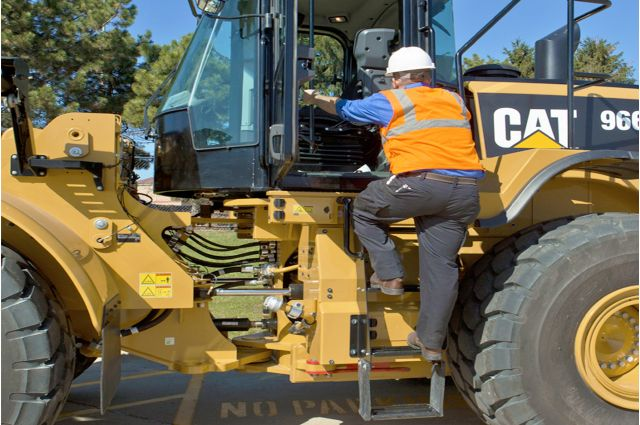 Cat 966M Wheel Loader - SAFELY HOME EVERY DAY