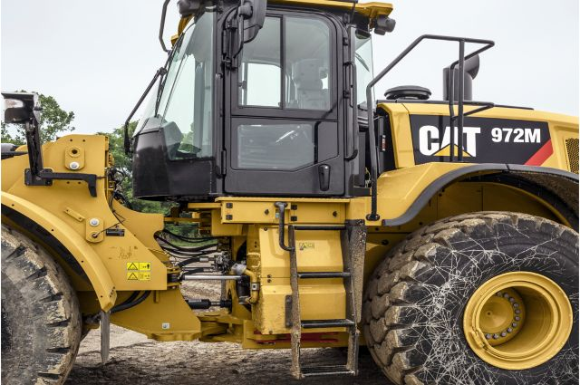 Cat 972M Wheel Loader - SAFELY HOME EVERY DAY