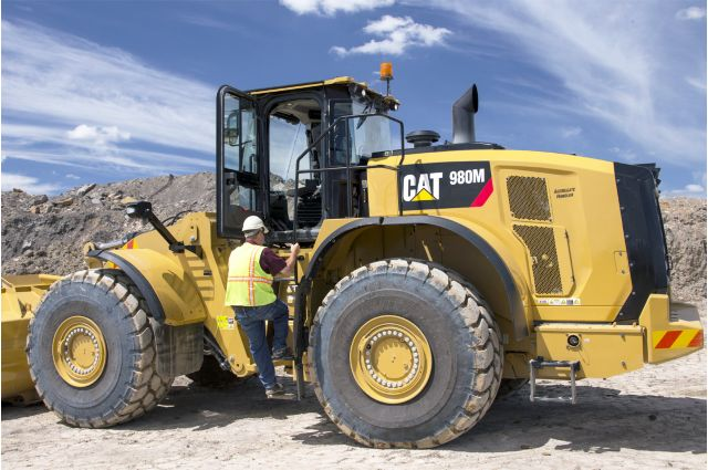 Cat 980M Wheel Loader - SAFELY HOME EVERY DAY