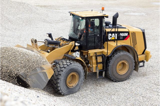 Cat 966M XE Wheel Loader - SAFELY HOME EVERY DAY