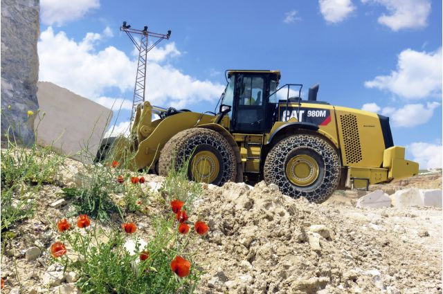 Cat 980M Wheel Loader - DO MORE WITH LESS FUEL