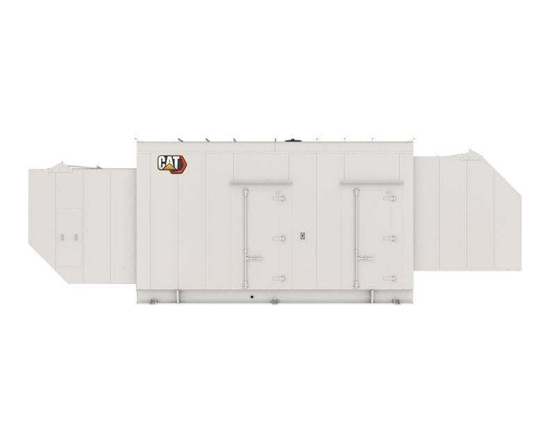 G3512 Gas Generator Set, Enclosure (closed)