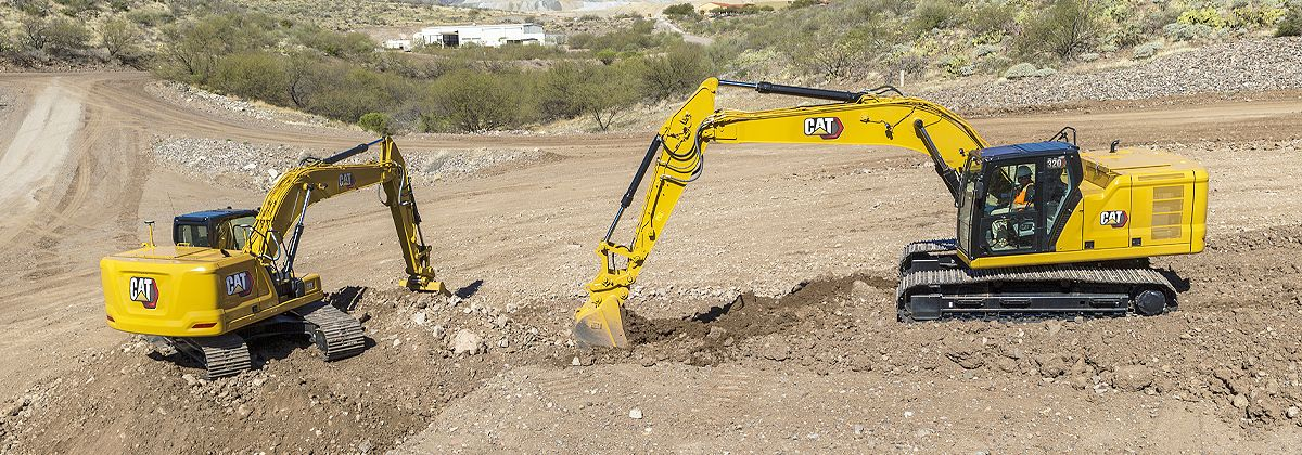 Next generation excavators help you meet your productivity and cost goals.