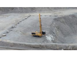 MD6200 Rotary Blasthole Drill Quarry Work