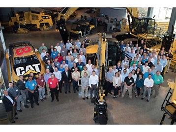 """100 Years of Metallurgy"" celebration attendees."