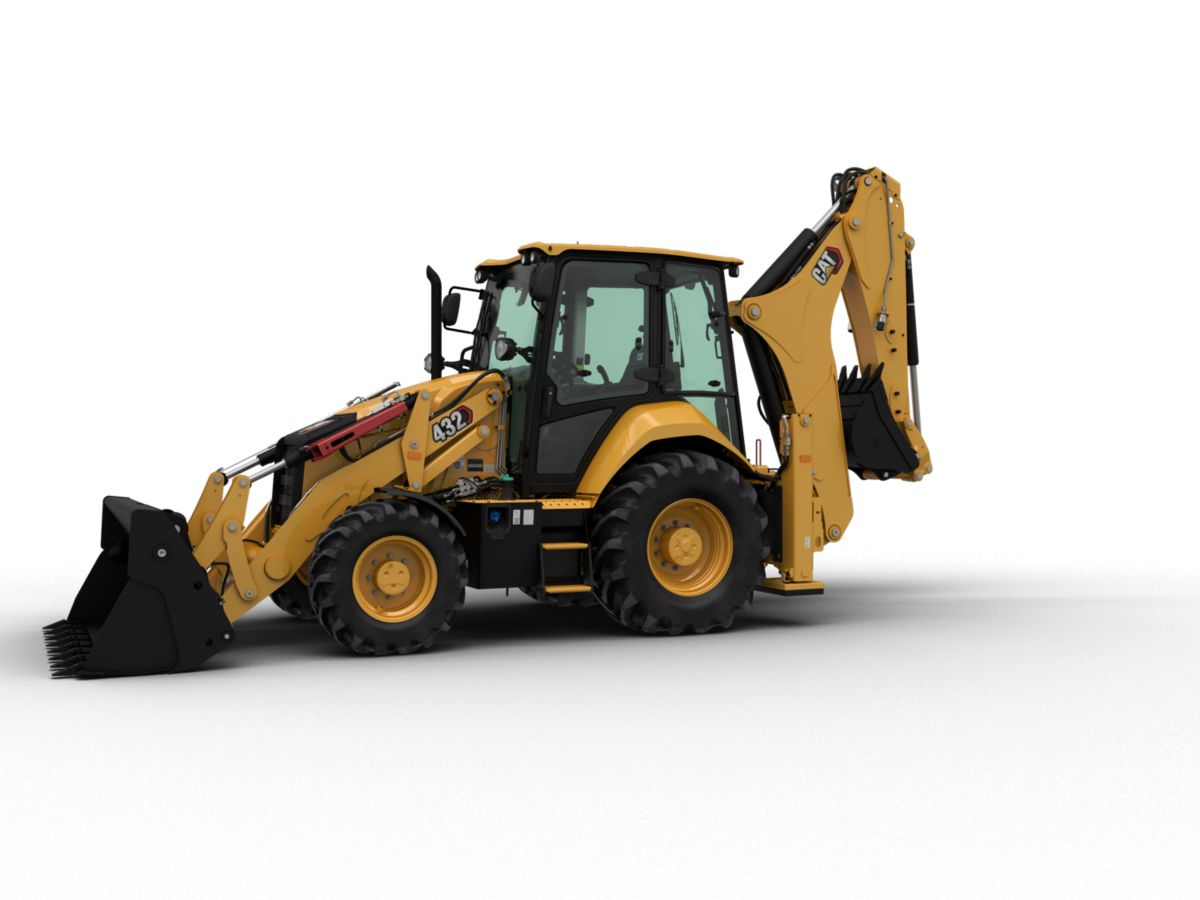 432 Backhoe Loader