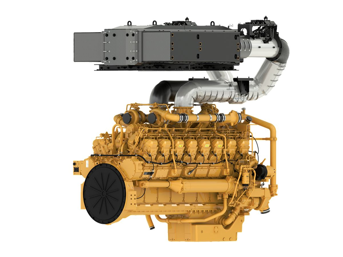 3516E Tier 4 Industrial engine with CEM