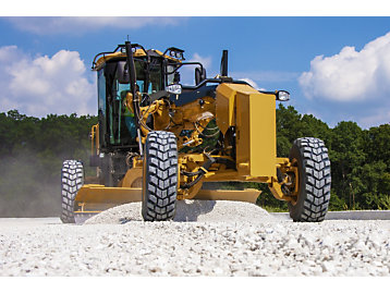 Cat Grade with Cross Slope for Motor Graders