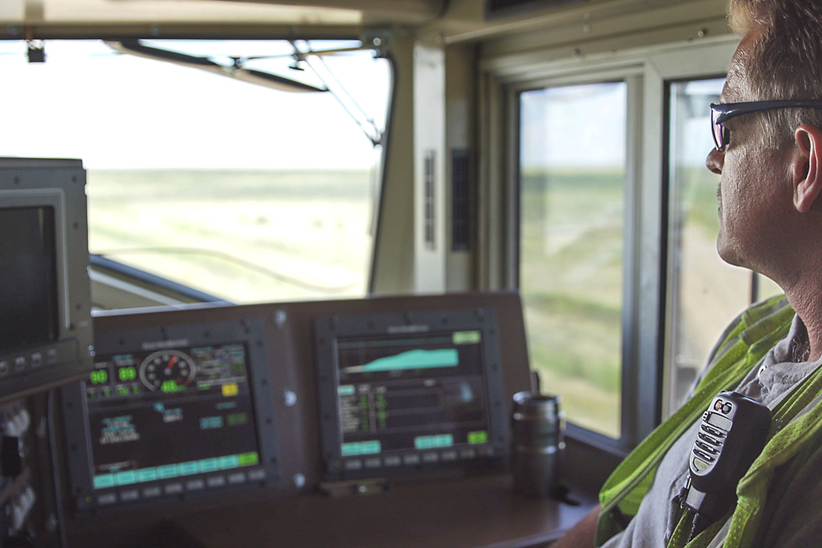 Talos Train Automation, Locomotive Control