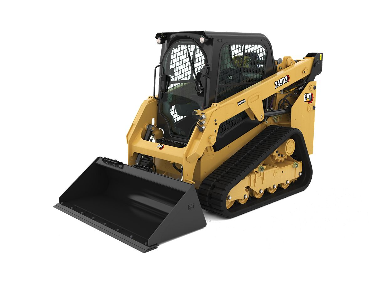 Cat® 249D3 Compact Track Loader