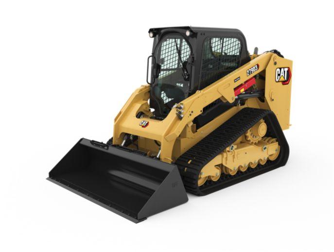 Cat® 279D3 Compact Track Loader