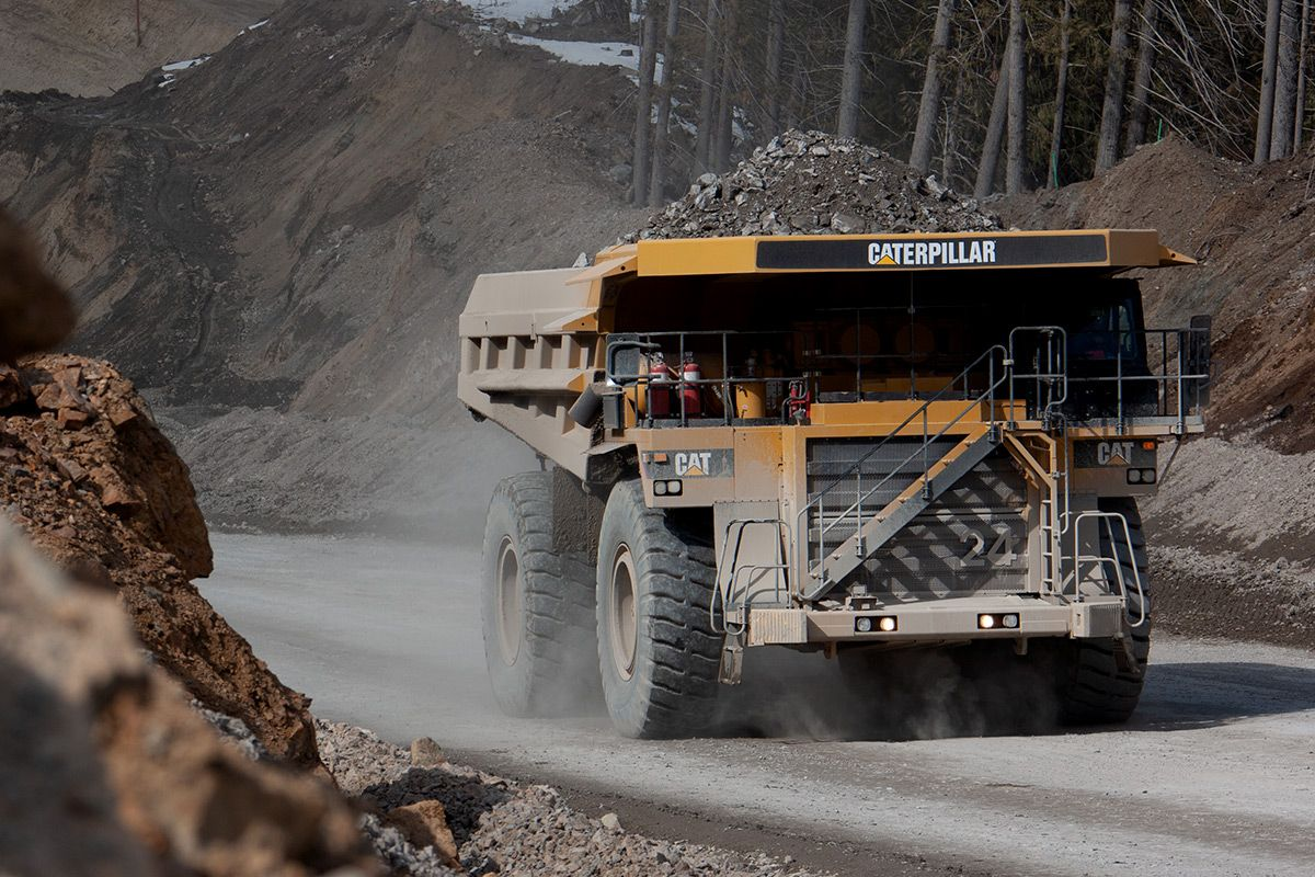 785D mining truck