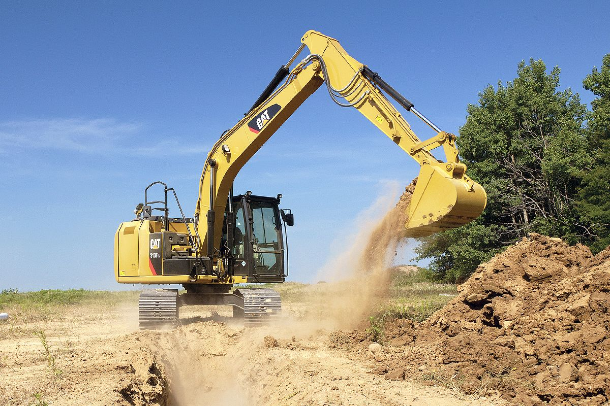 Cat Grade with Depth & Slope for Excavators