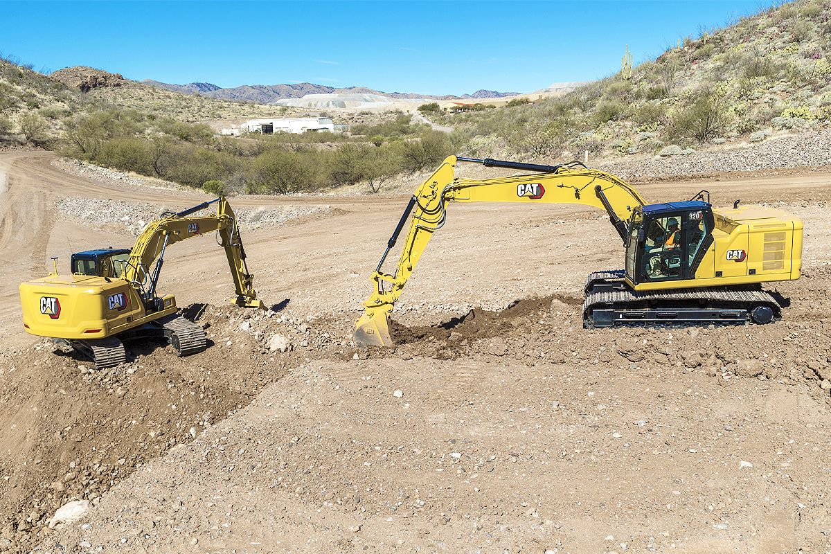 Cat GRADE with Assist for Excavators