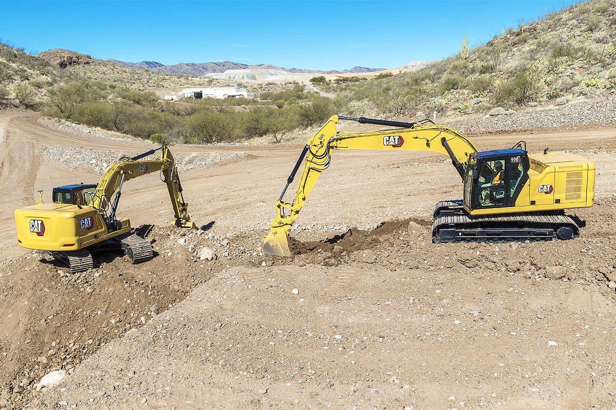 Cat Grade with Assist for Excavators