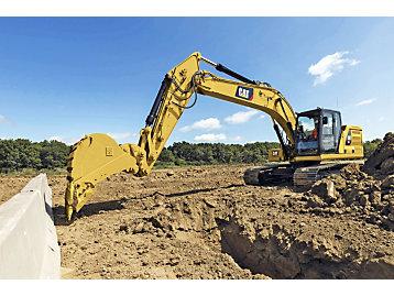 Sistema delimitador Cat 2D para excavadoras