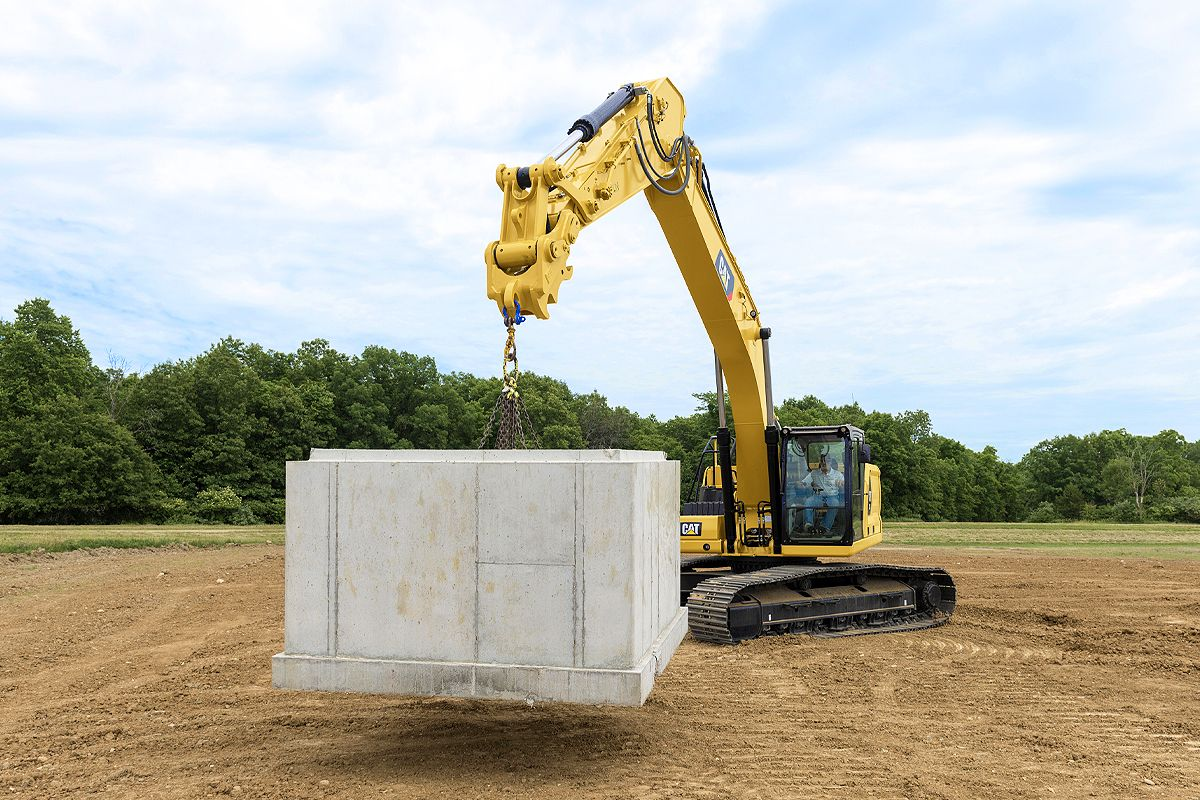 Cat Lift Assist for Excavators