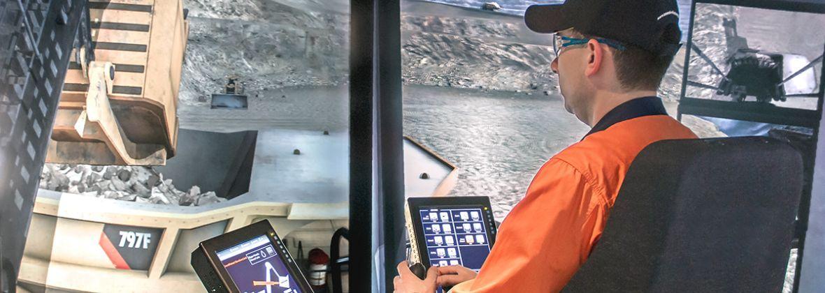 Simulator Training for Mining Operators