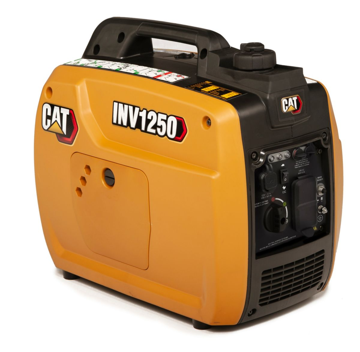 1000 watt inverter generator Cat® INV1250 quiet generator