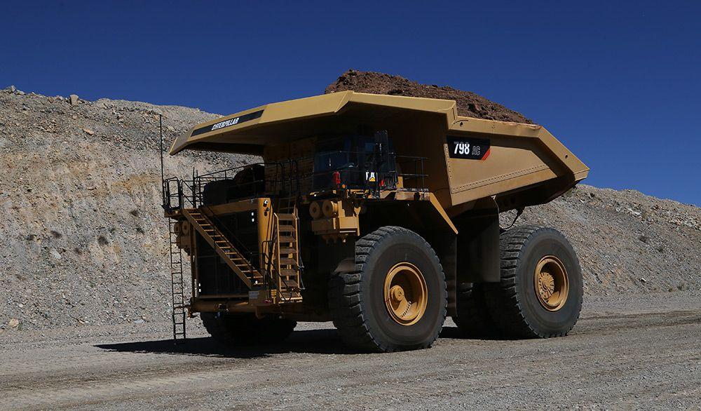 798 AC mining truck