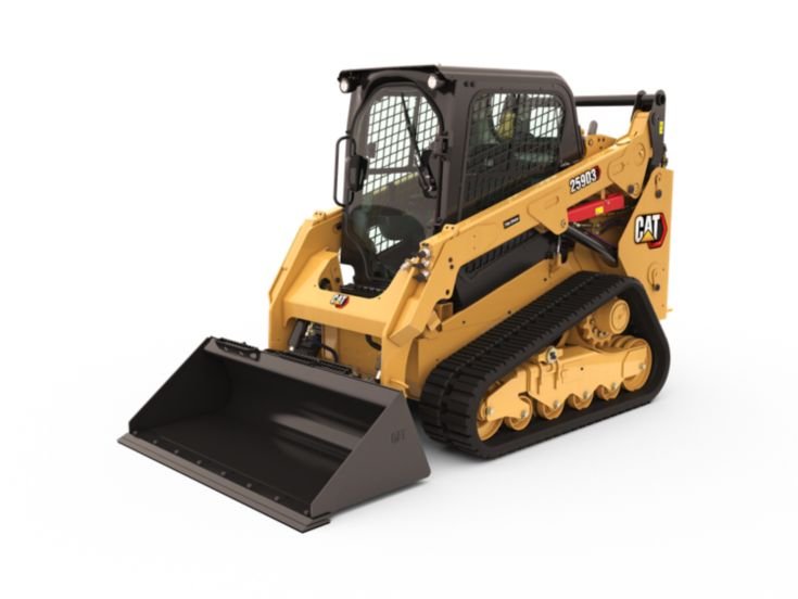 Skid Steer and Compact Track Loaders - 259D3