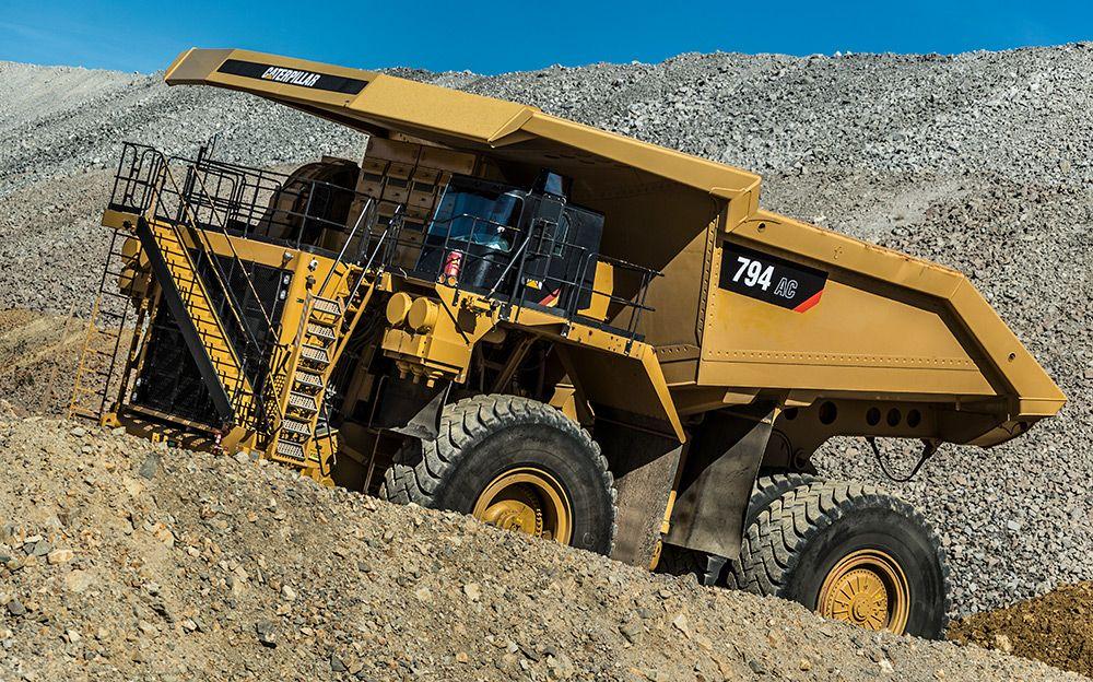 794 AC mining truck>