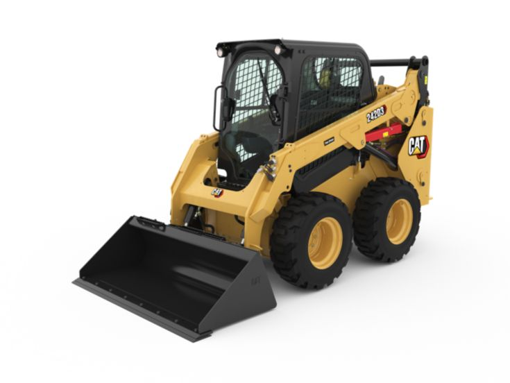 Skid Steer and Compact Track Loaders - 242D3