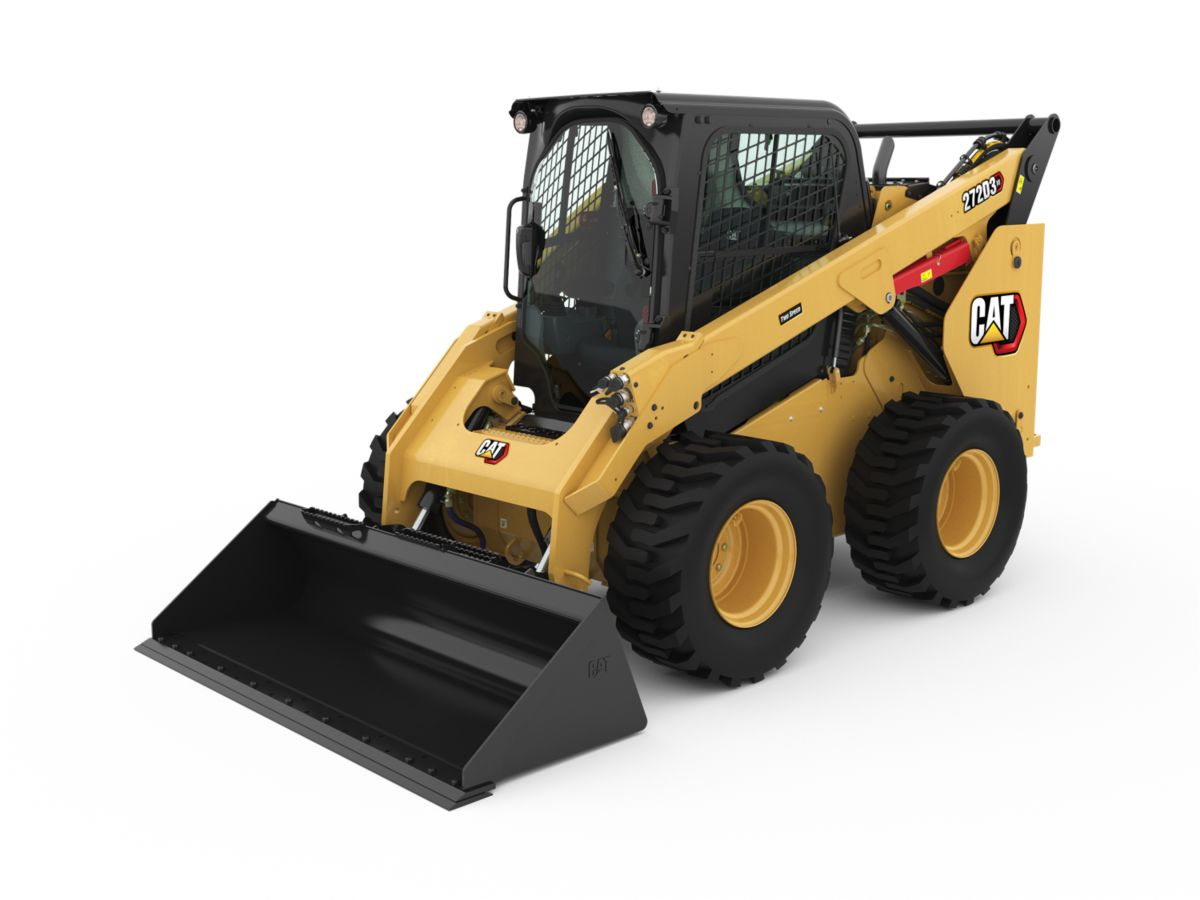 Cat® 272D3 XE Skid Steer Loader