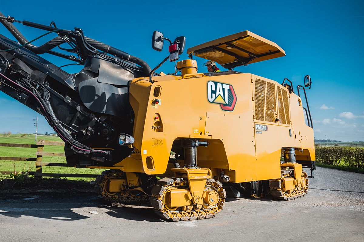 PM310 with Track Undercarriage