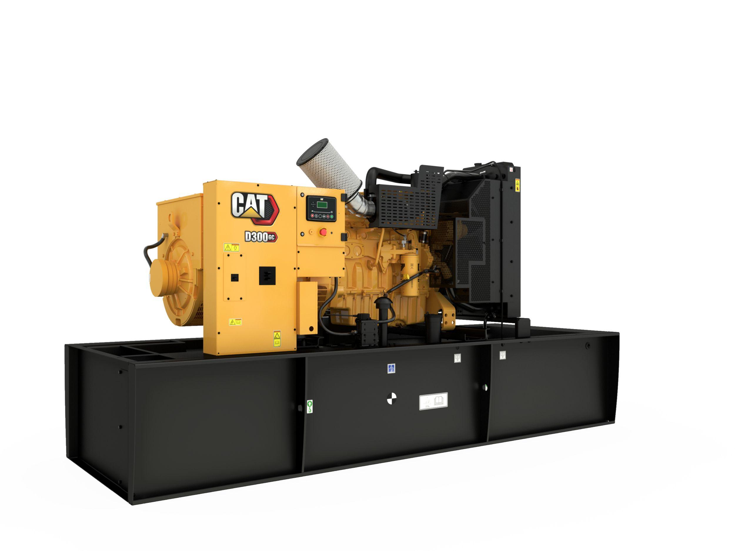 D250 GC/D300 GC (60 Hz) Generator Set