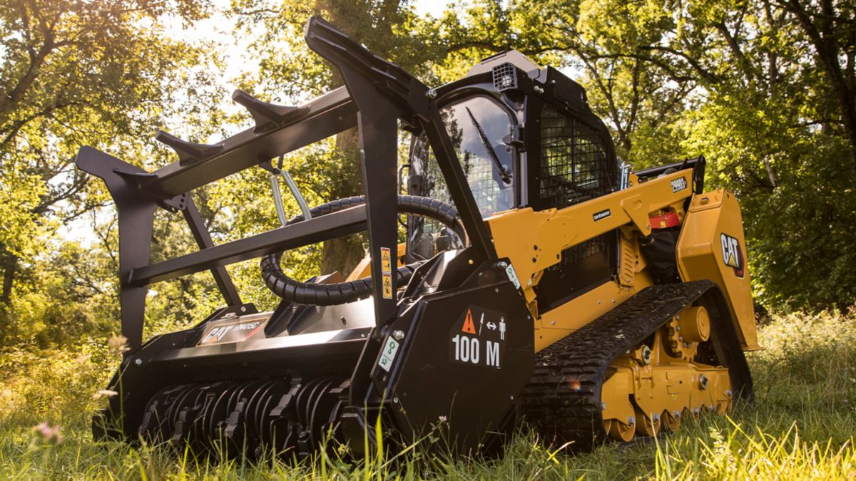 The new Cat® D3 Series Compact Track Loaders are ideal machines for land management applications.