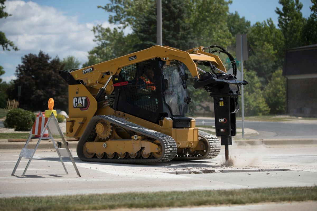 Cat® 299D3 Compact Track Loader>