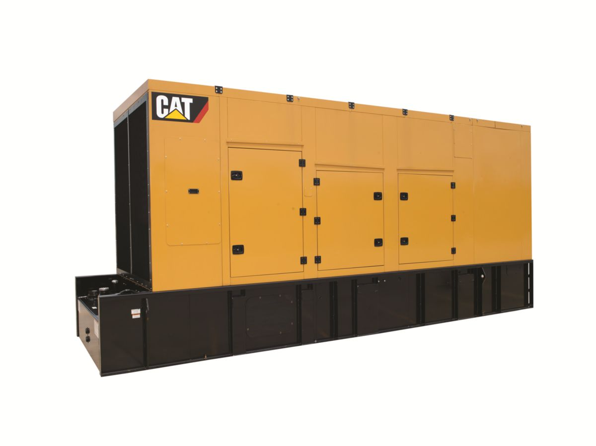 New CaterpillarGenerator-Set-Enclosures
