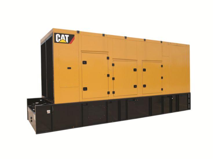Generator Set Enclosures - C27 and C32 Sound Attenuated Enclosure
