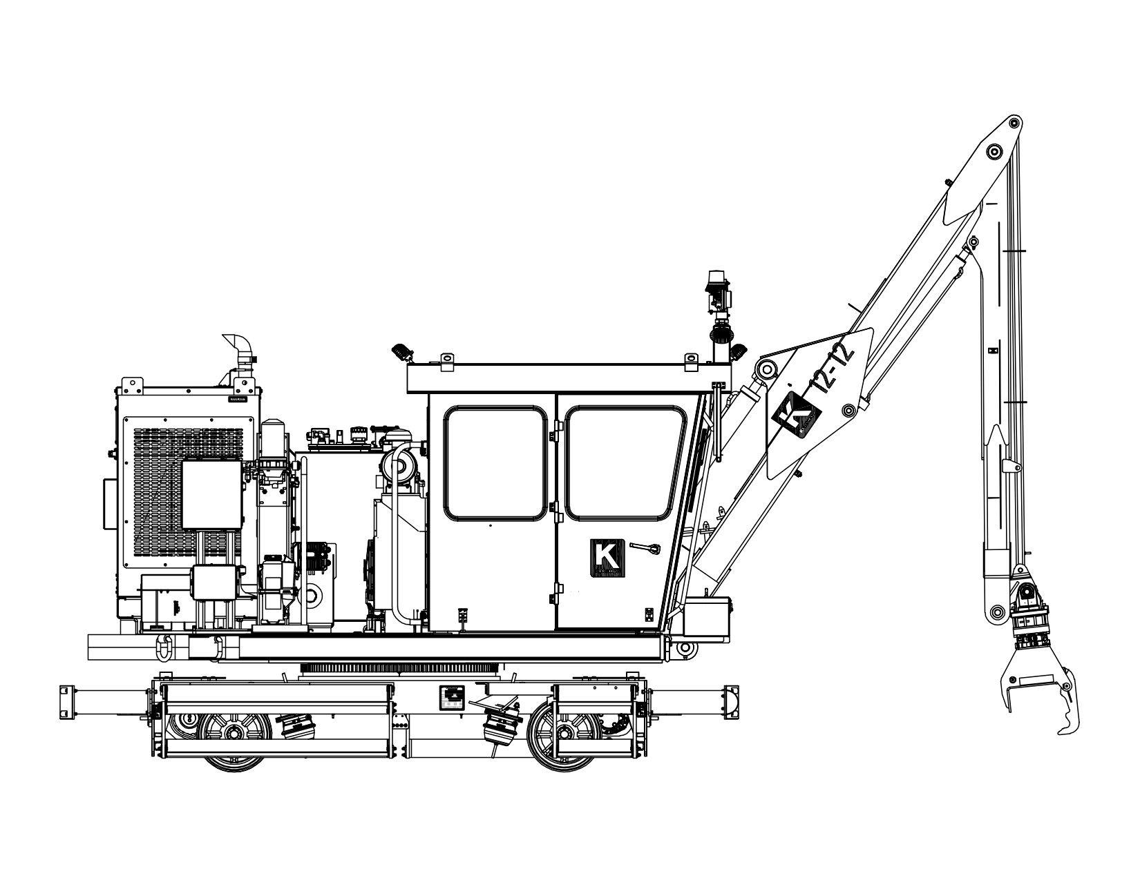 Kershaw® 12-12 Tie Crane