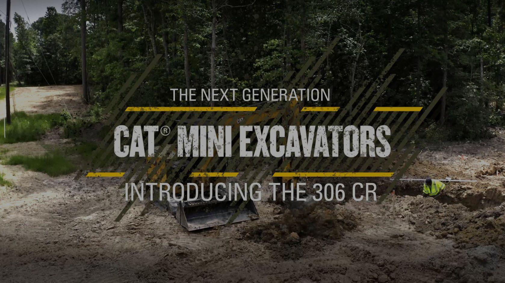 Cat Mini Excavators: 1-2 Ton