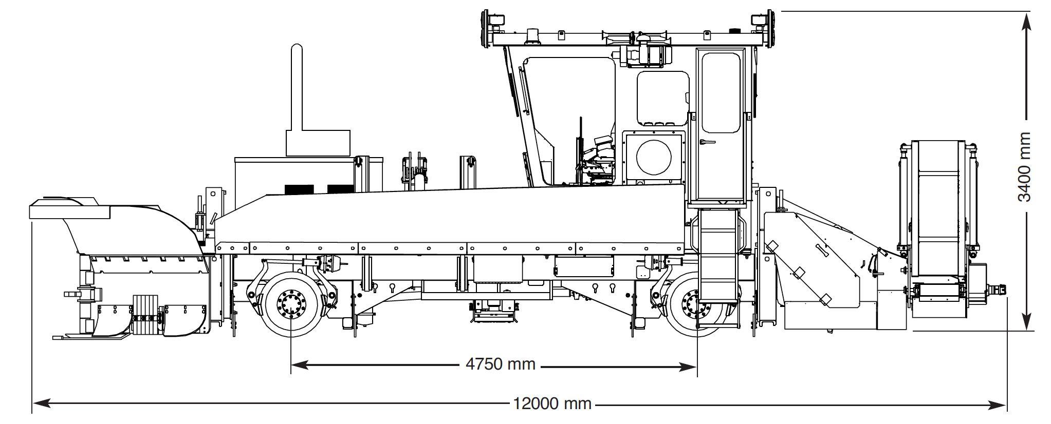 Kershaw® Ballast Regulator Model 60 Sand Remover