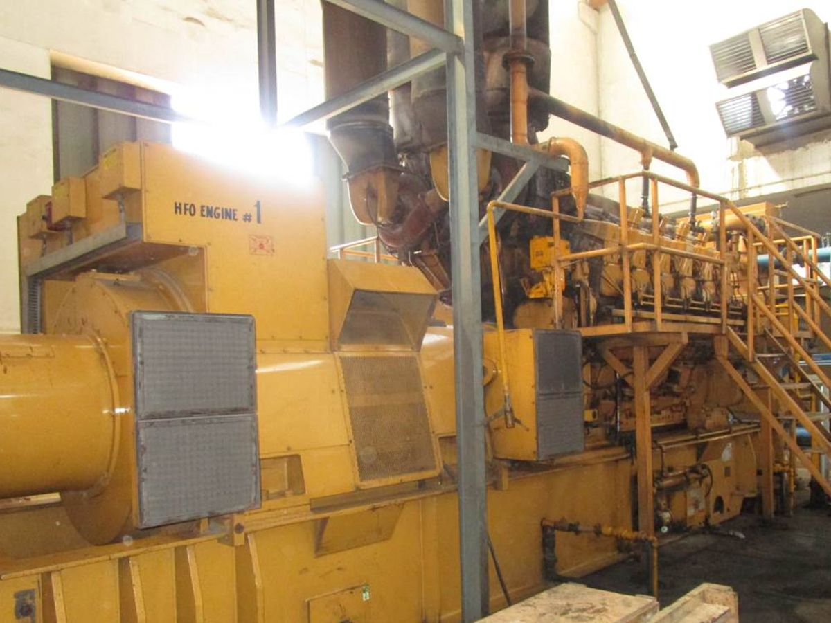 Textile mill supplements sporadic grid power with Cat® generator sets