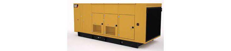 Generator Set Enclosures - C18 Tier 4 Final Sound Attenuated  Enclosure