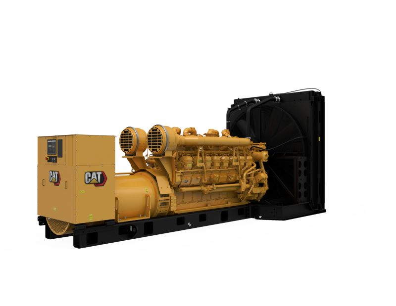 3516B Diesel Generator Sets, Rear Right